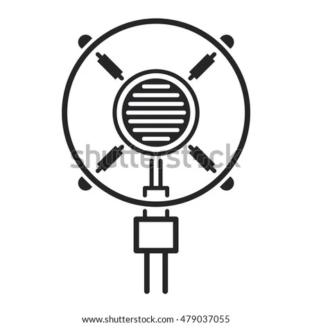 Microphone Vector Stock Photos, Royalty-Free Images