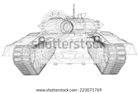 Bolt Connection Sketch Bolt Nut Connecting Stock Vector