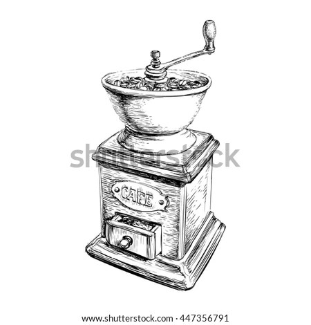 Coffee Mill Stock Images, Royalty-Free Images & Vectors