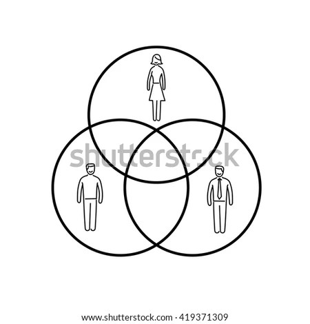 Conceptual Infographic Population Chart Modern Flat Stock