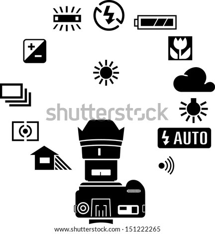 Camera Symbol Stock Images, Royalty-Free Images & Vectors