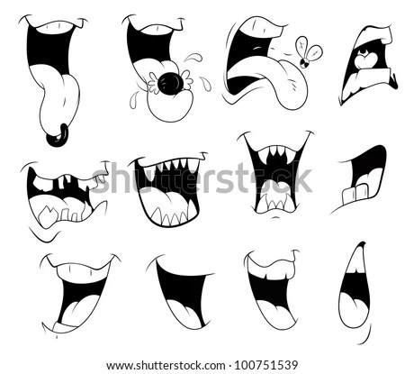 Cartoon Mouth Stock Images, Royalty-Free Images & Vectors
