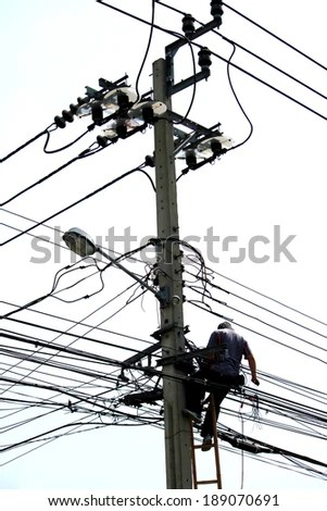 Electric Lineman Stock Images, Royalty-Free Images