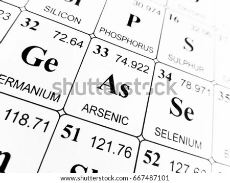 Arsenic Stock Images, Royalty-Free Images & Vectors