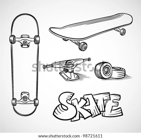 Skateboard Wheels Stock Photos, Images, & Pictures