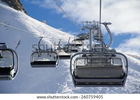Ski Chair Lift Stock Images RoyaltyFree Images  Vectors