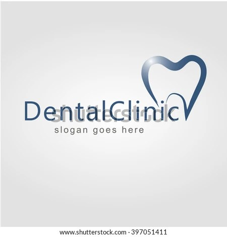 Dental Logo Design Dentist Stock Vector HD Royalty Free