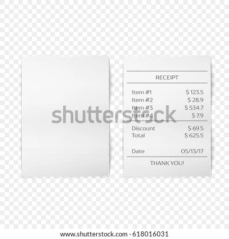 Reciept Stock Images, Royalty-Free Images & Vectors
