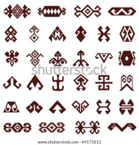Asian Motif Stock Images, Royalty