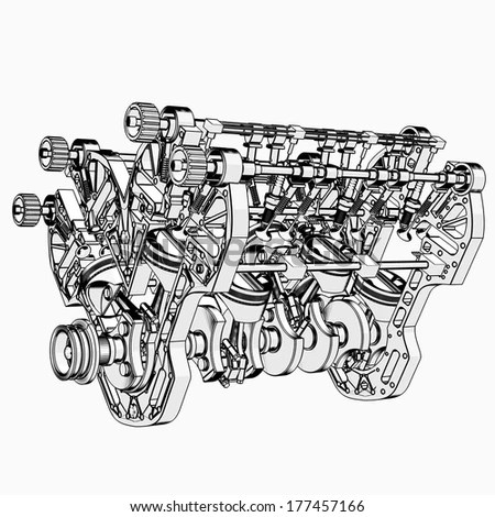 Motorcycle Engine Design Motorcycle Lighting Design Wiring
