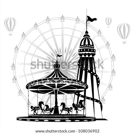 Merry-go-round Stock Photos, Royalty-Free Images & Vectors