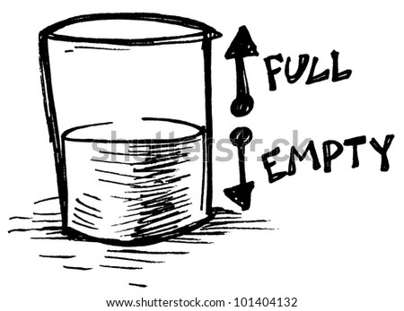 Glass Half Empty Stock Images, Royalty-Free Images