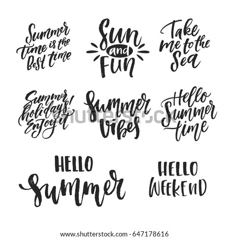 Vector Illustration Handdrawn Lettering Believe Your Stock
