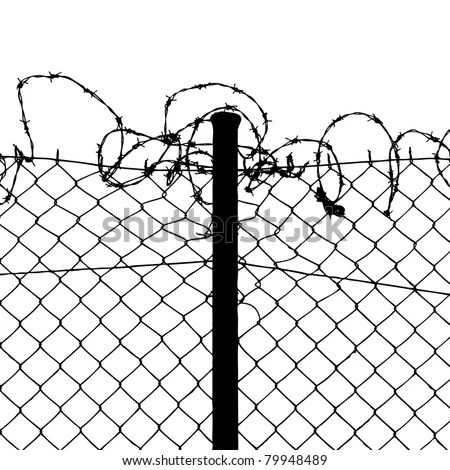 Barbed Wire Fence Stock Images, Royalty-Free Images