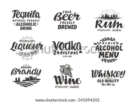 Brandy Label Stock Images, Royalty-Free Images & Vectors