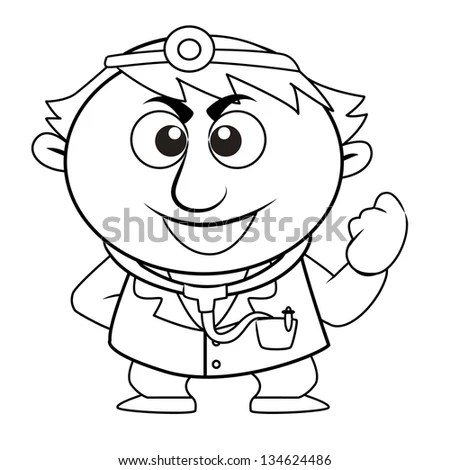 Doctor Drawing Stock Photos, Royalty-Free Images & Vectors