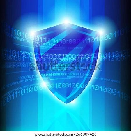 Data Protection Metal Shield Binary Codes Stock Illustration 98734166 - Shutterstock