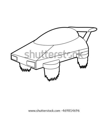 Custom Envelope Die Cut Template Stock Vector 371127050