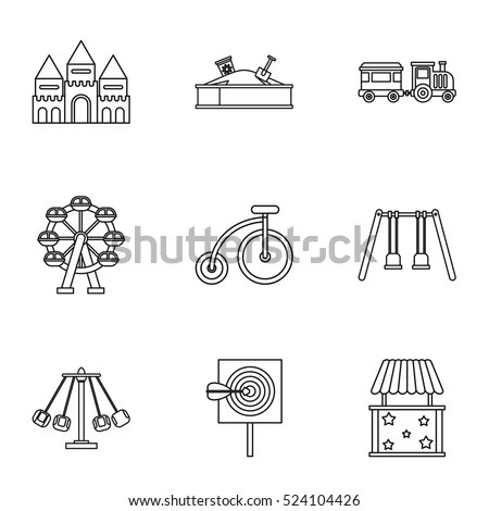 Playground Icon Stock Images, Royalty-Free Images