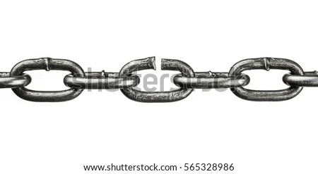 Broken Chain Stock Images, Royalty-Free Images & Vectors