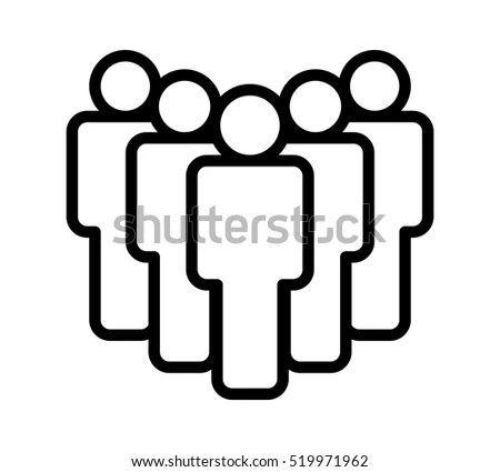 People Outline Stock Images, Royalty-Free Images & Vectors
