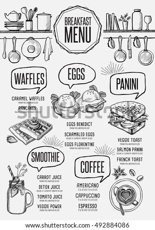 Food Menu Layout Stock Images, Royalty-Free Images