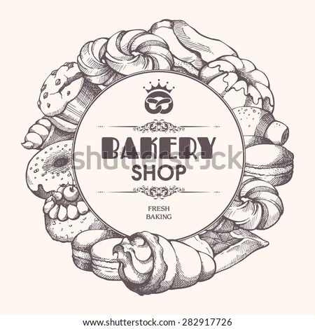 Bakery Label Stock Images, Royalty-Free Images & Vectors