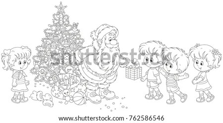Kids Coloring Pages Stock Images, Royalty-Free Images