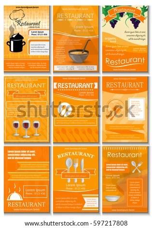 sample restaurant brochure sample restaurant brochure free