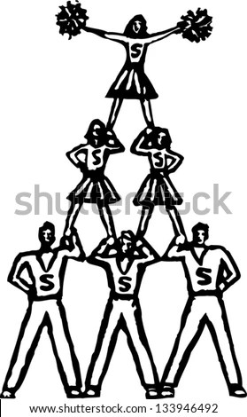 Cheer-leader Stock Images, Royalty-Free Images & Vectors