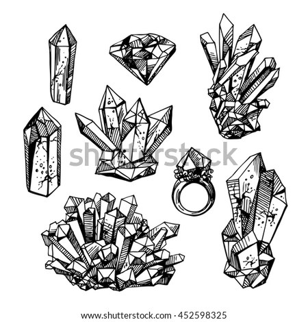 Beautiful Hand Drawn Vector Illustration Sketching Stock