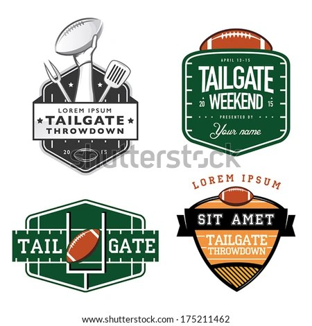 tailgating stock royalty-free