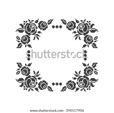 Cross-stitch Stock Images, Royalty-Free Images & Vectors