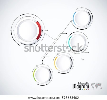 Abstract Global Infinity Computer Technology Concept Stock