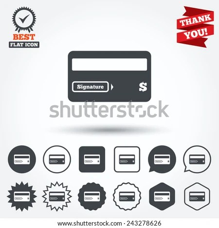 Credit Card Signature Stock Photos, Royalty-Free Images