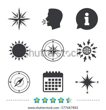 Cardinal Direction Stock Images, Royalty-Free Images