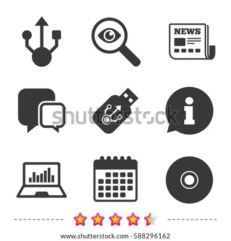 Cd Icon Set Stock Images, Royalty-Free Images & Vectors