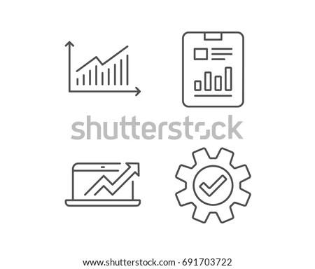 Presentation Billboard Sign Icon Scheme Diagram Stock