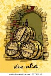cellar wine vector vectors shutterstock clip