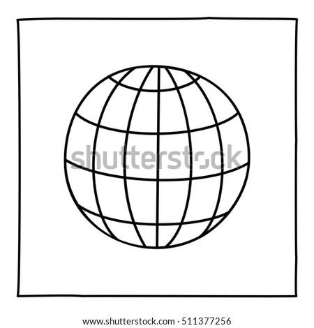 World Globe Vector Icon Logo 3d Stock Vector 620283632