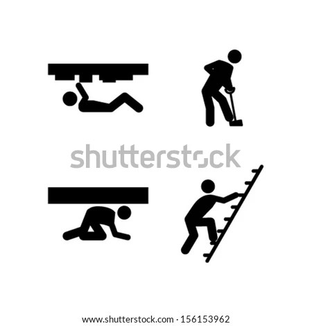 People Business Work Tough Burden Anger Stock Vector