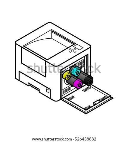 Laser Printers Stock Images, Royalty-Free Images & Vectors