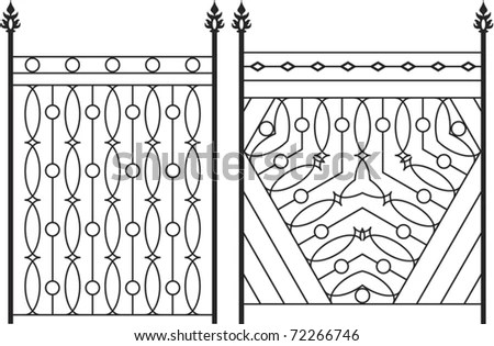 Wrought Iron Border Stock Images, Royalty-Free Images
