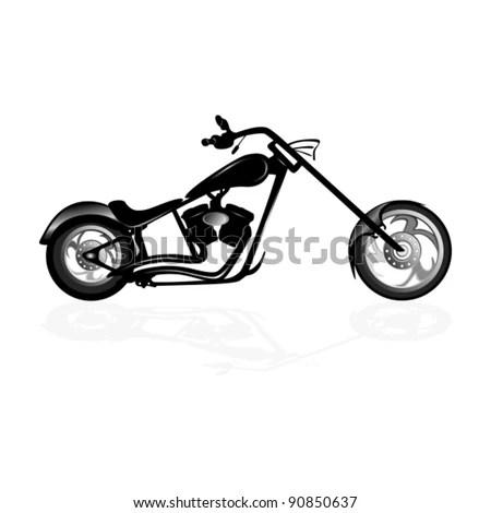Custom Choppers Motorcycles White Custom Motorcycles