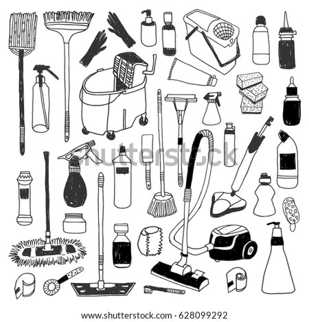 Mop Cartoon Stock Images, Royalty-Free Images & Vectors