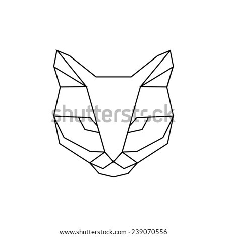 Geometric Cat Stock Images, Royalty-Free Images & Vectors
