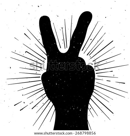 Peace Sign Hand Stock Images RoyaltyFree Images