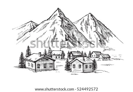 Wood Cabin Stock Images, Royalty-Free Images & Vectors