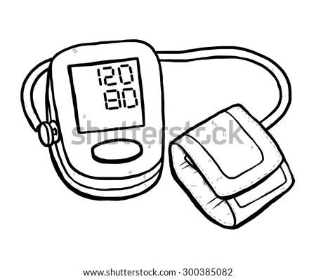 Blood Pressure Check Stock Vectors & Vector Clip Art