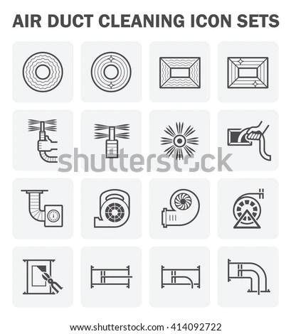 Air Compressor Machine Part Air Conditioner Stock Photo